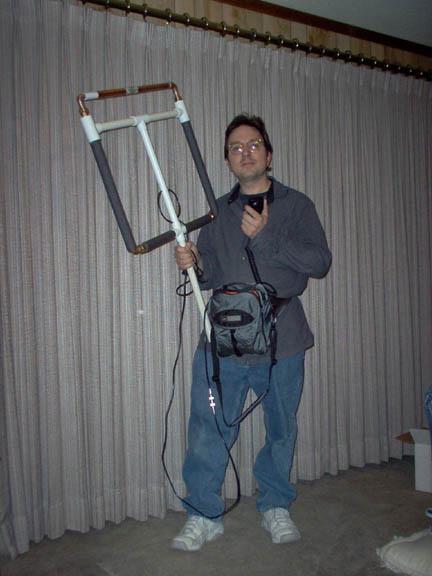 Portable HF Transmitting Loop Antenna